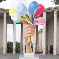 "Paris artists dismiss Jeff Koons' terror attack memorial as ""product placement"""