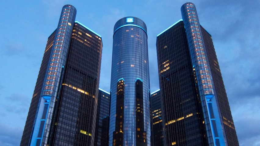 GM Renaissance Center Detroit by John Portman