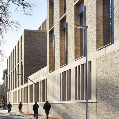 Stanton Williams Completes Contemporary Extension To Historic Cambridge  University Campus