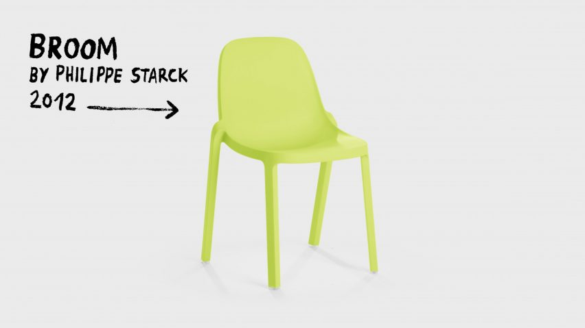 Broom by Philippe Starck for Emeco