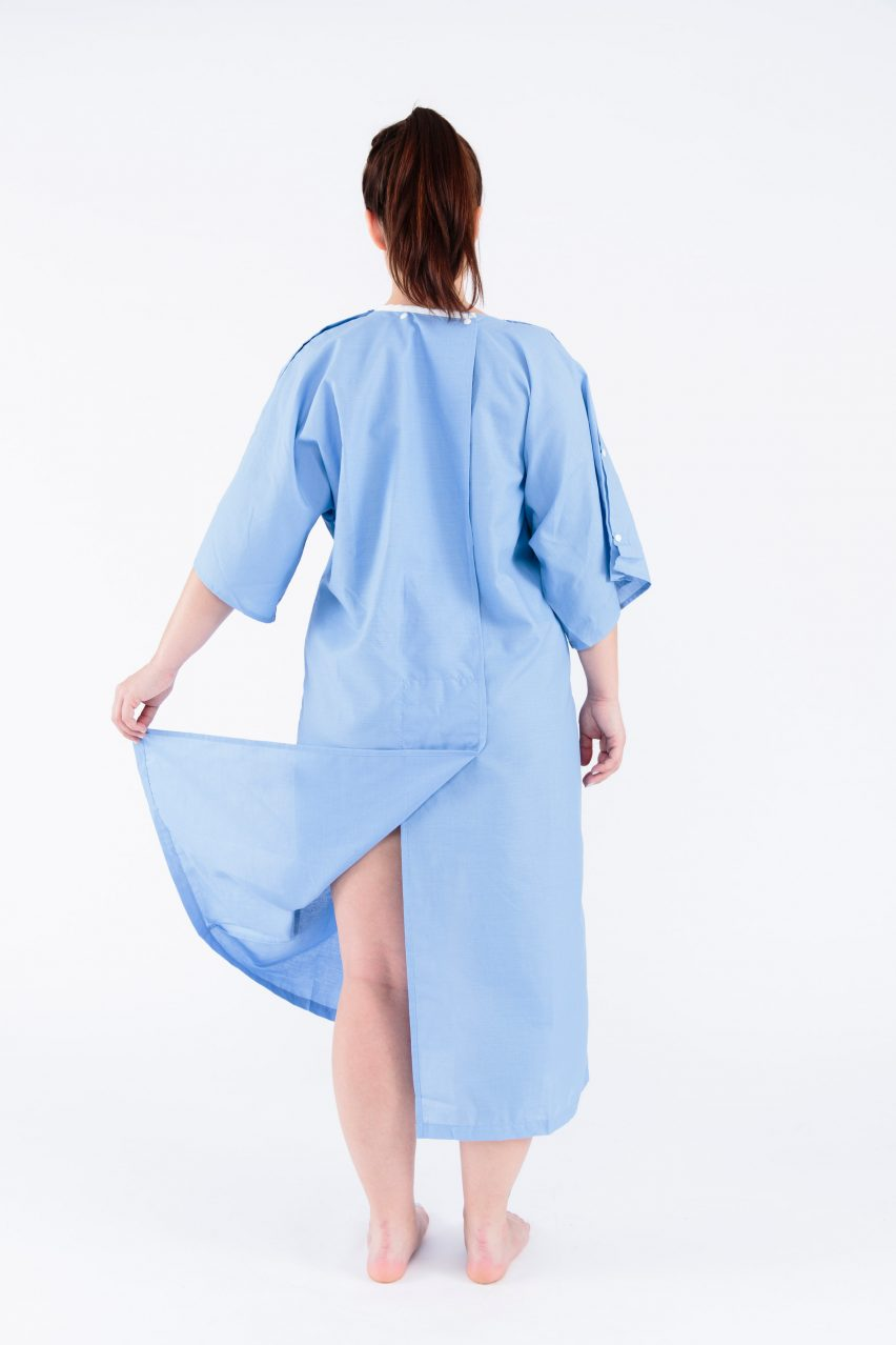 Kimono patient gowns by Care+Wear