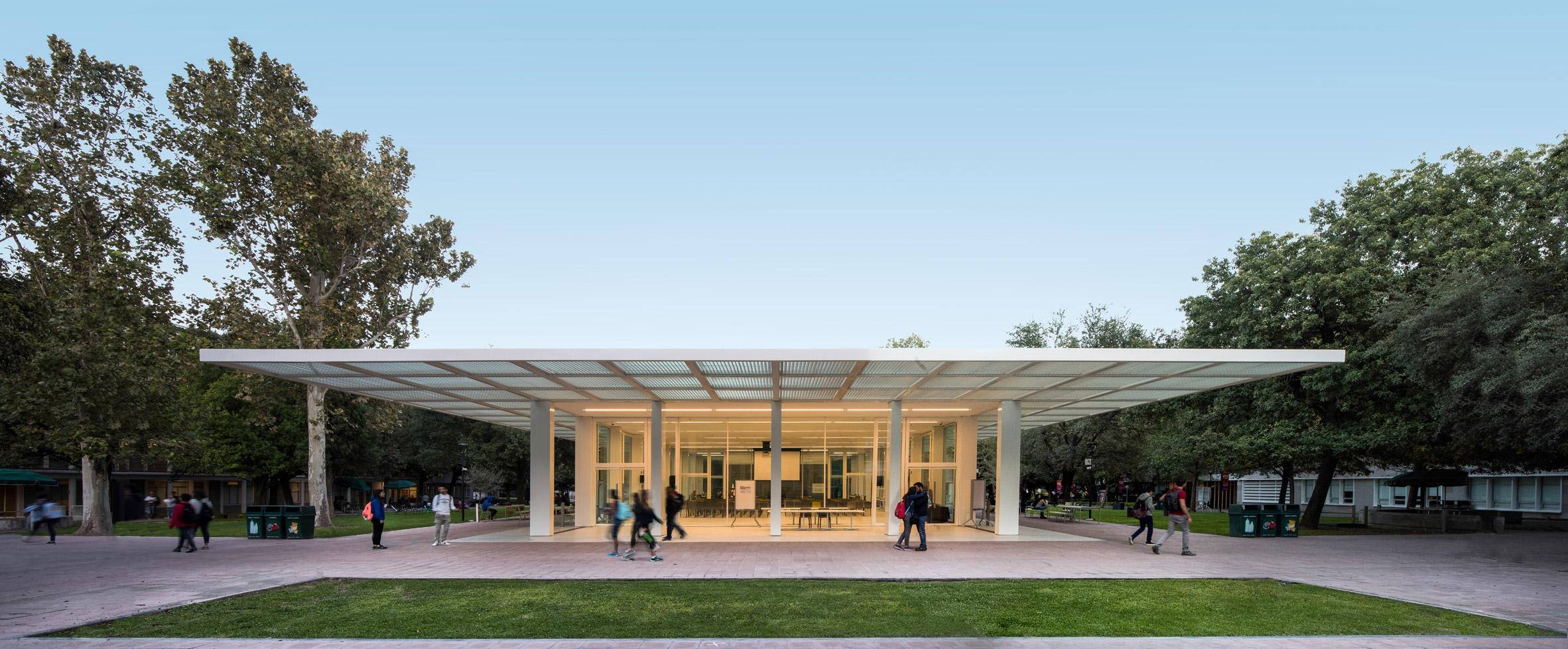 Monterrey Tec library and pavilion by Sasaki