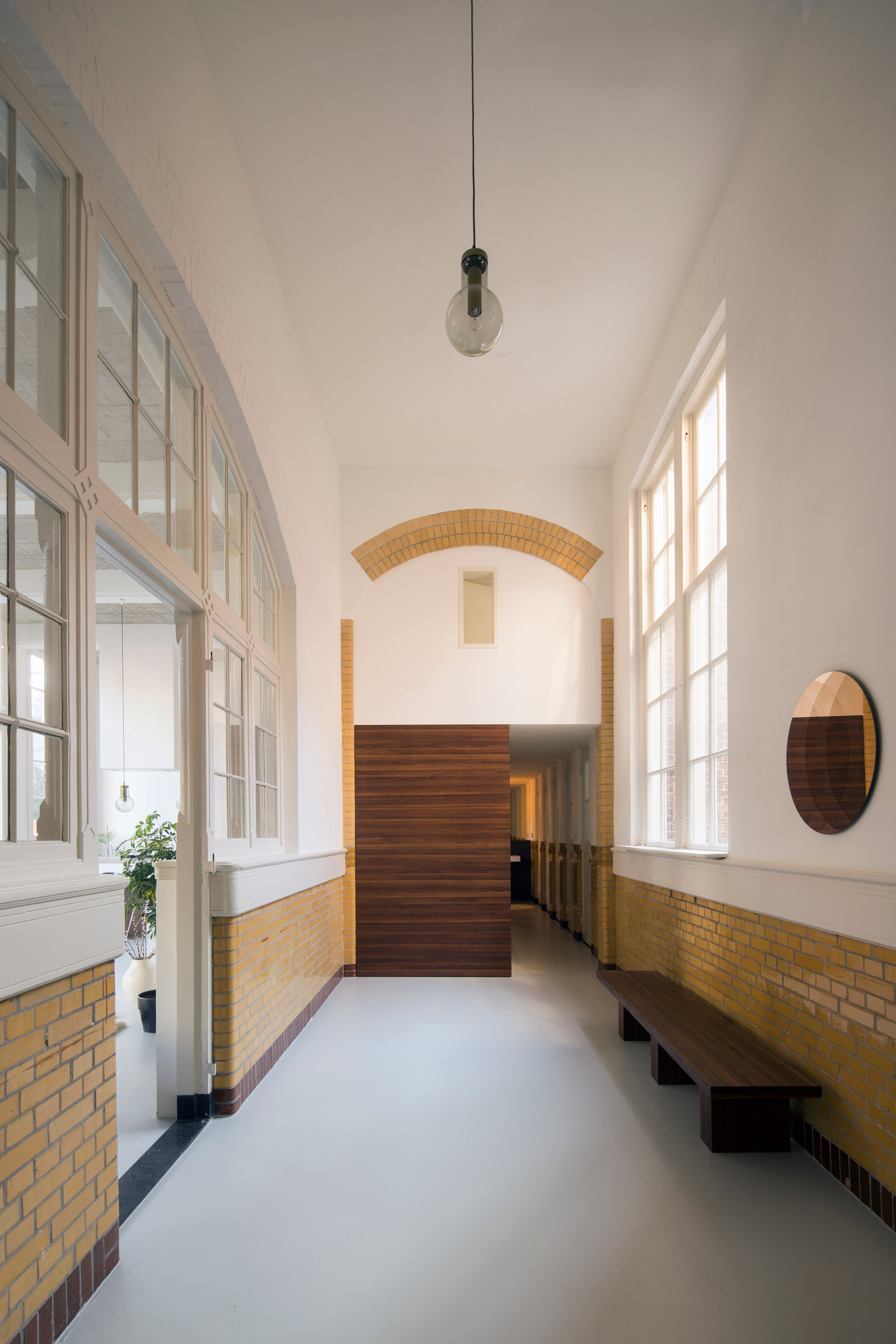Eklund Terbeek transform 20th-century schoolhouse into light-filled loft apartment