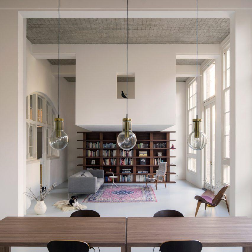 Eklund Terbeek transform 20th-century schoolhouse into light-filled loft apartment