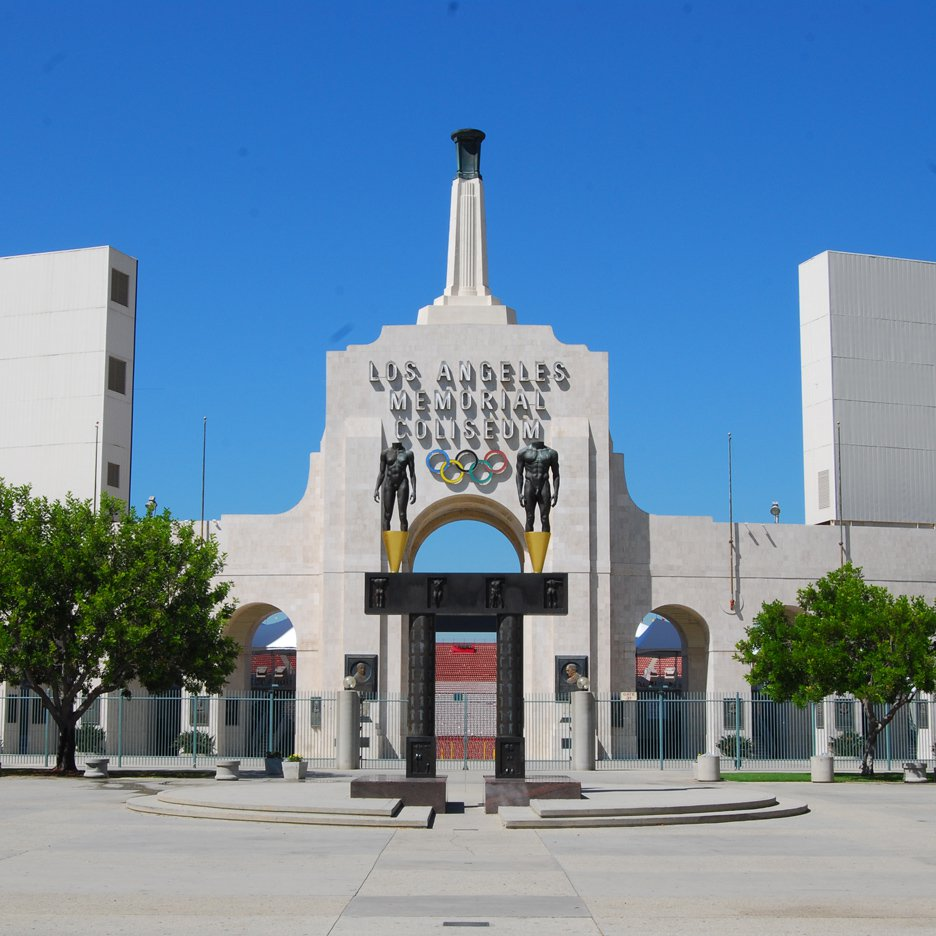 Memorial Coliseum by John and Donald Parkinson, Los Angeles, California