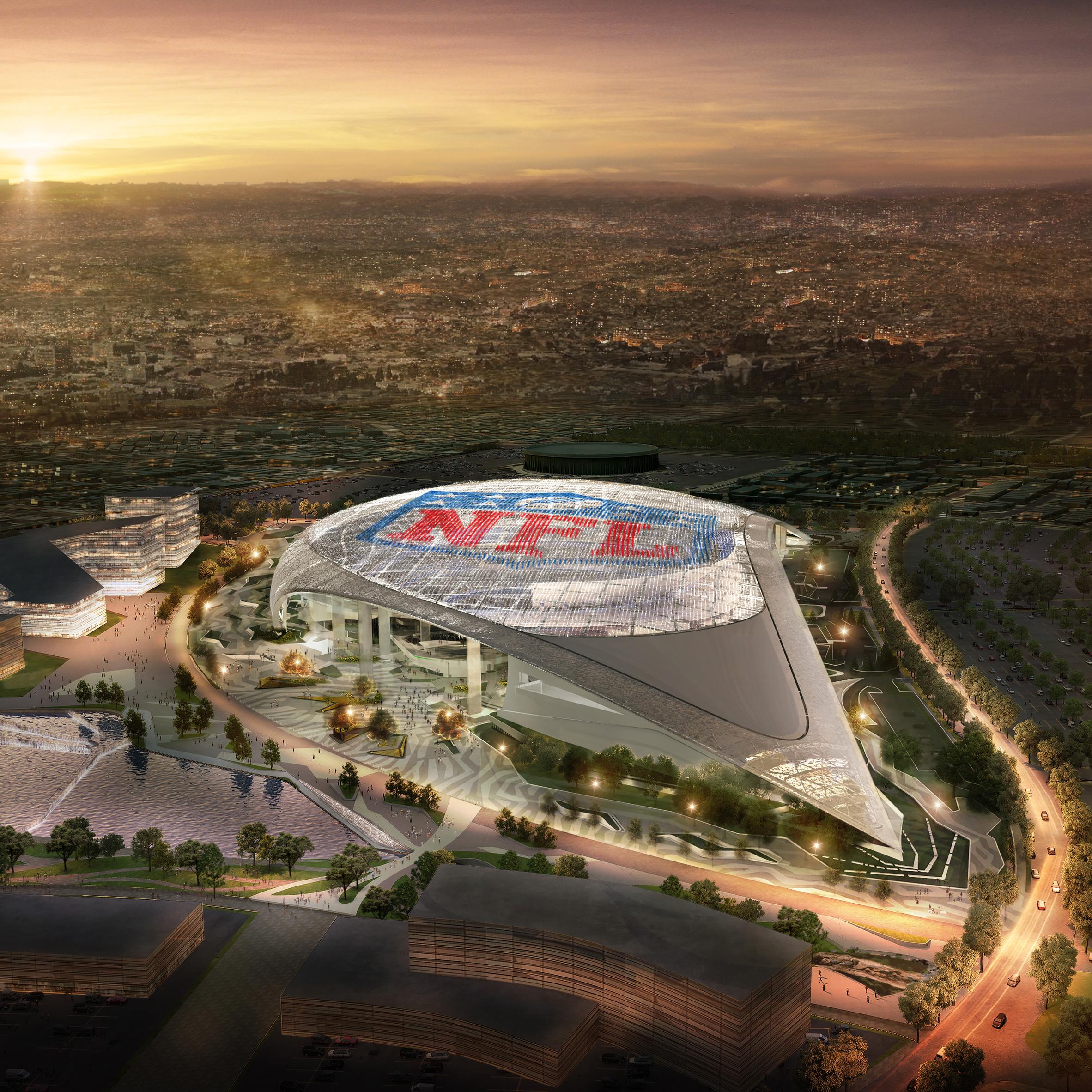 Los Angeles Stadium by HKS, Los Angeles, California