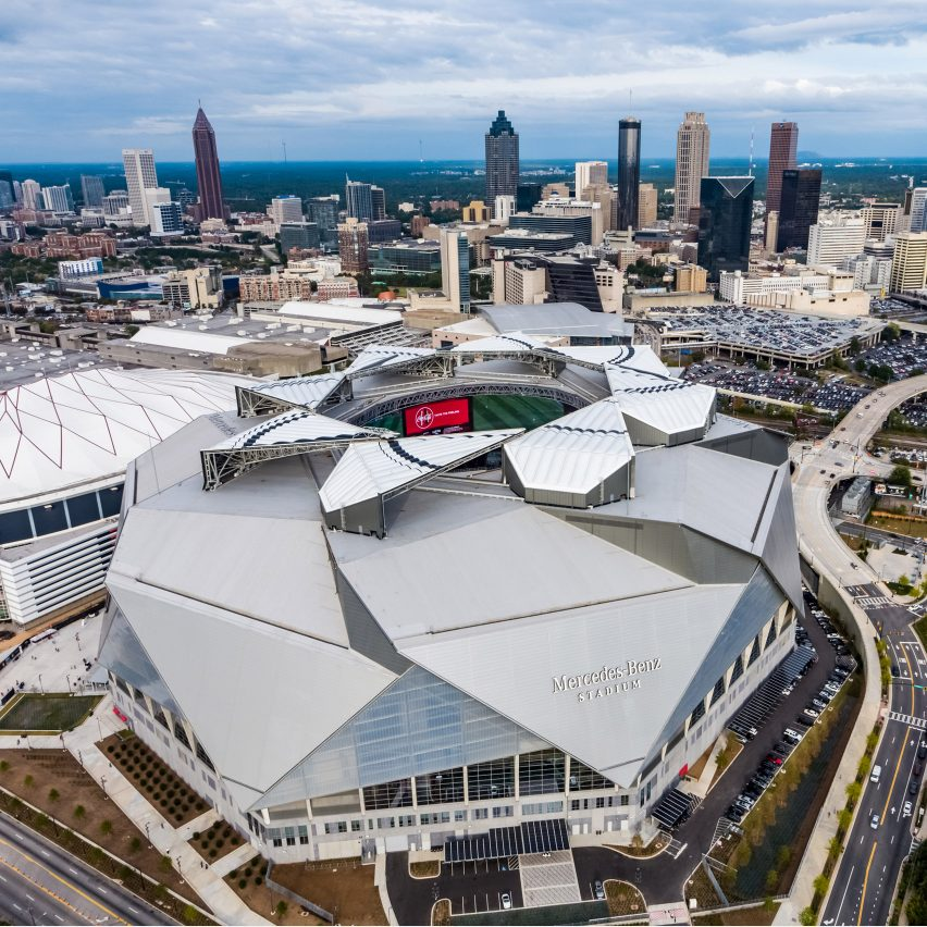 HOK's Mercedes-Benz Stadium will host the 53rd Super Bowl