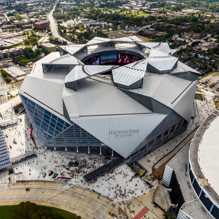 Mercedes-Benz Stadium by HOK, Atlanta, Georgia