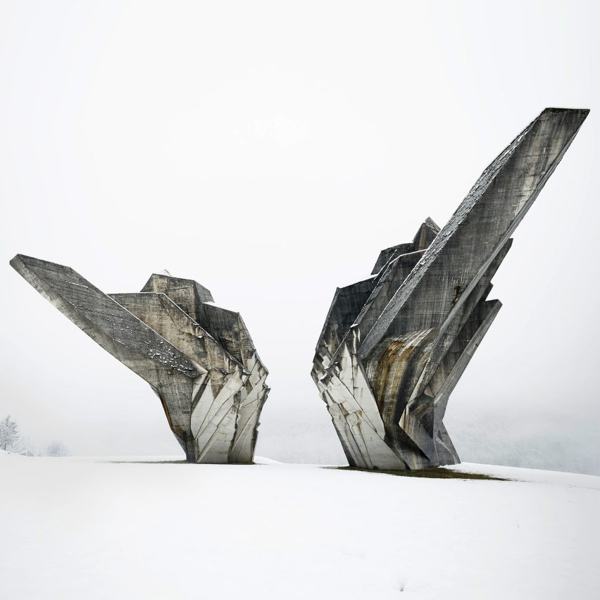 Monument to the Battle of Sutjeska by Miodrag Živković