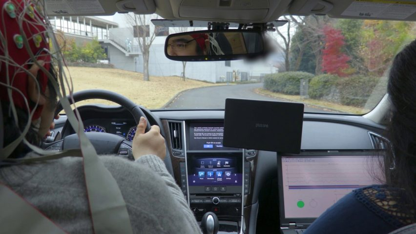 Nissan Shows Brain-to-Vehicle Technology