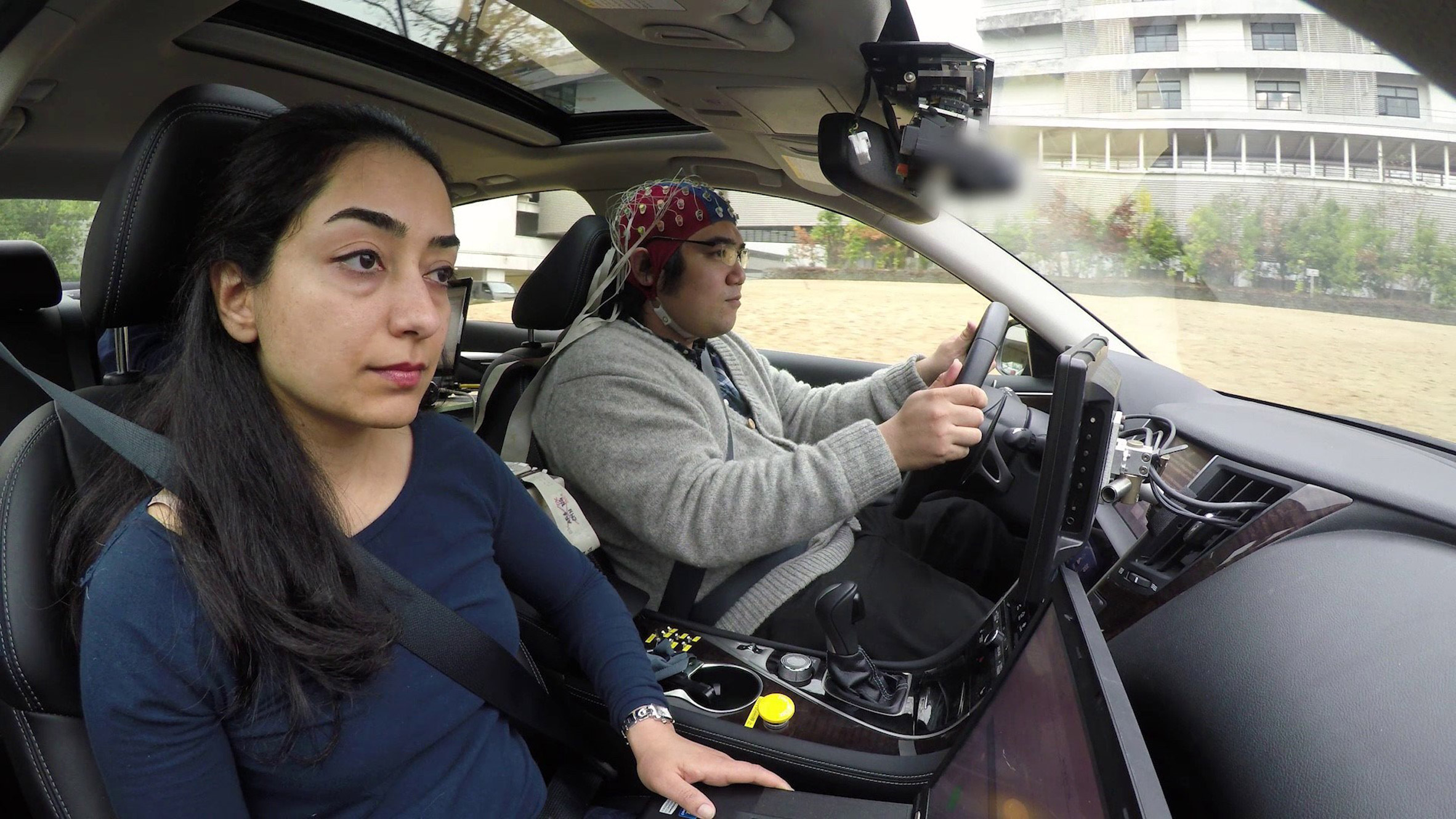 Nissan's latest technology allows cars to respond to drivers' brainwaves