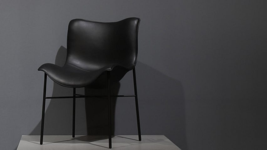 Danish brand Handvark just unveiled the Mantle chair designed by Iskos-Berlin during Maison & Objet fair