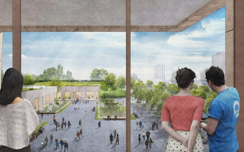 Obama presidential center redesigned before Chicago city review