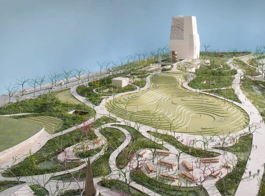 Obama Presidential Center model