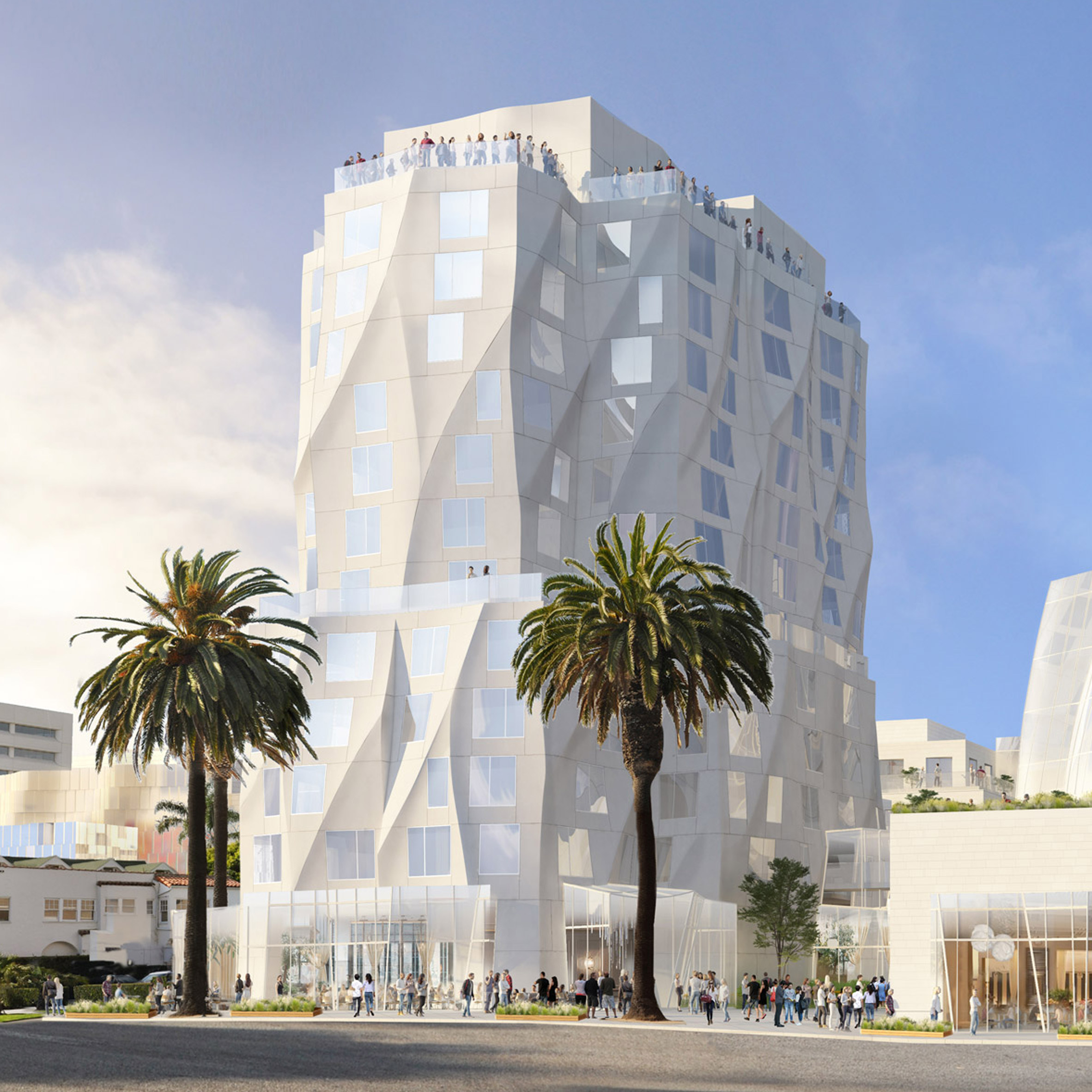 Frank Gehry adds more public spaces to Santa Monica