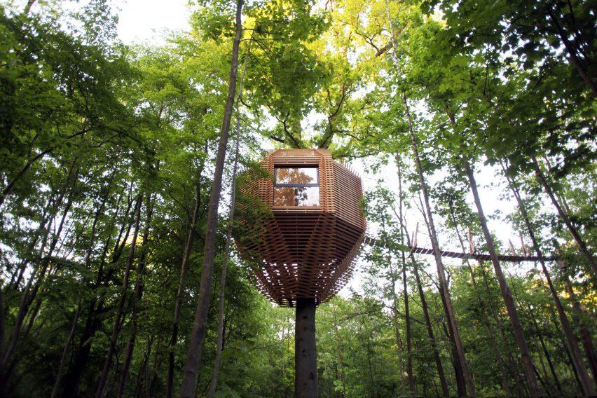 Origin tree house by Atelier Lavit