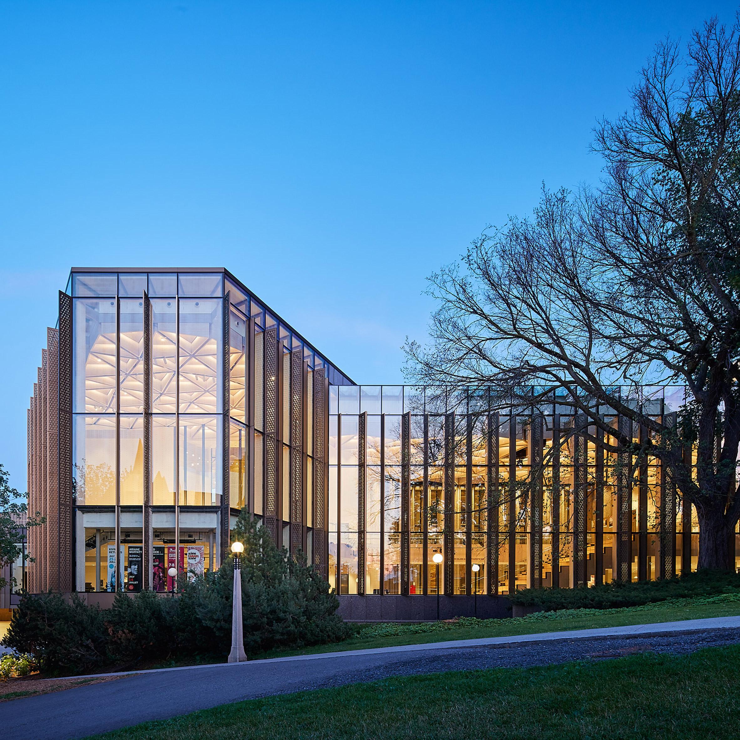 Ottawa National Arts Centre by Diamond Schmitt Architects