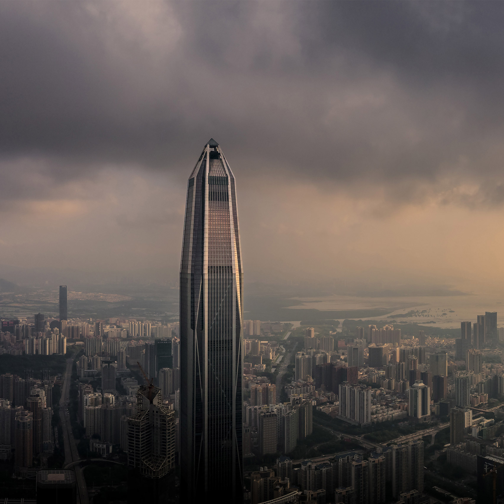 Top 10 skyscrapers: Ping An Finance Centre, China, by KPF