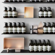 MSDS Studio illuminates Aesop store in Toronto with collection of compact lamps
