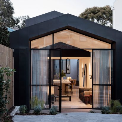 Dominic Pandolfini Updates His Century Old Melbourne Home With Huge  Zinc Clad Extension