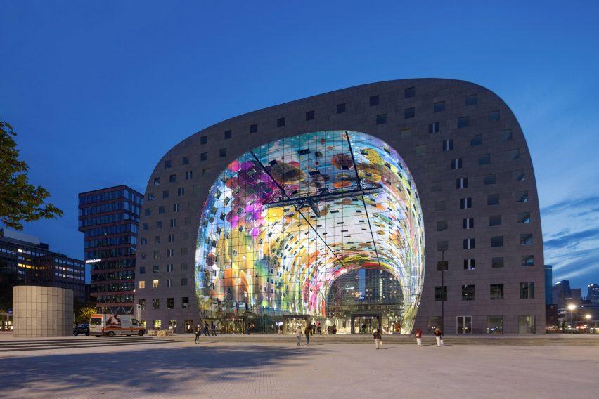 Markthal Rotterdam, Netherlands, 2014, by MVRDV
