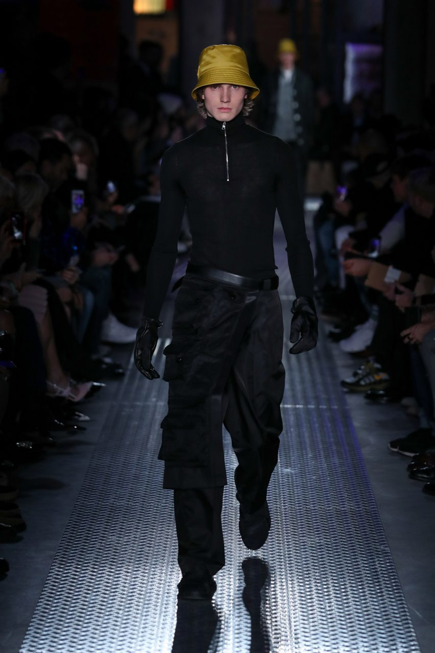 c3be06b664c8 German designer Konstantin Grcic looked to multipocketed fishing vests for  his garment