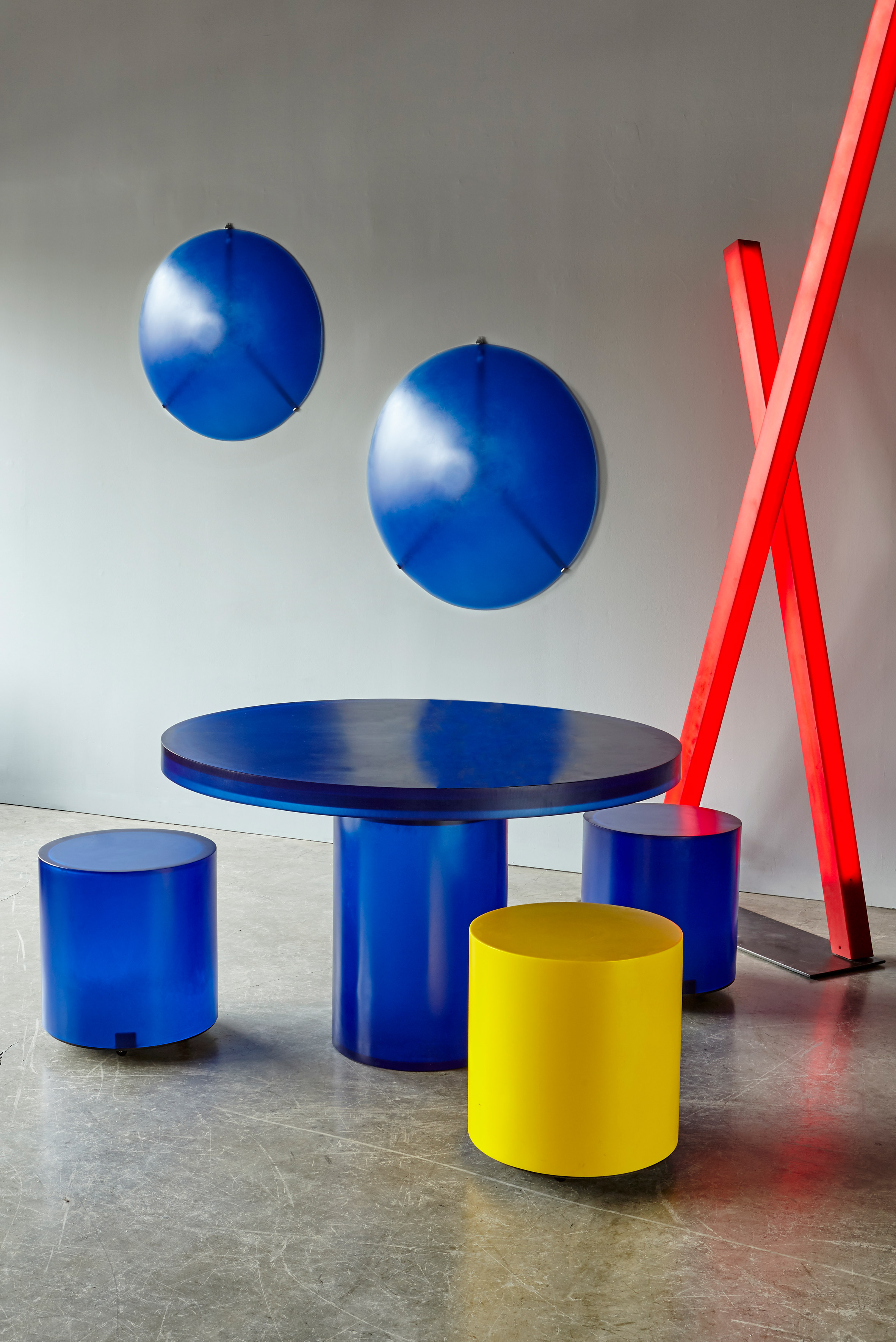 Martha Sturdy uses resin to create bold, blocky furniture