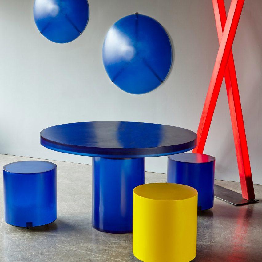 Martha Sturdy uses resin to create bold, blocky furniture