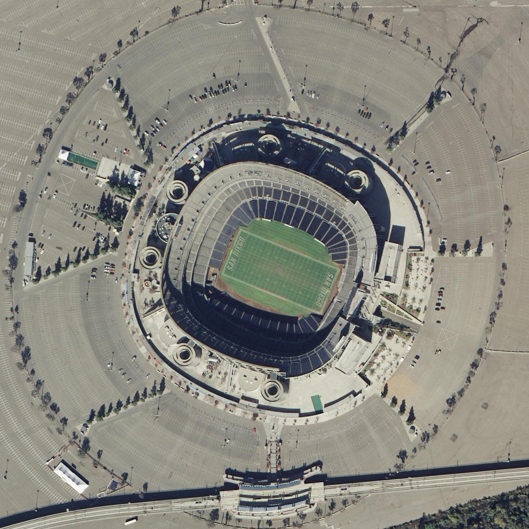 Qualcomm Stadium by Gary Allen, San Diego, California