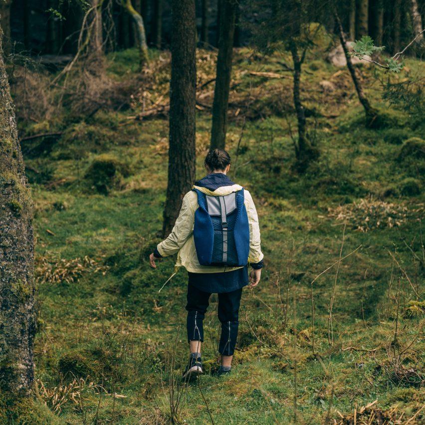 Radus backpack by Pauline van Dongen