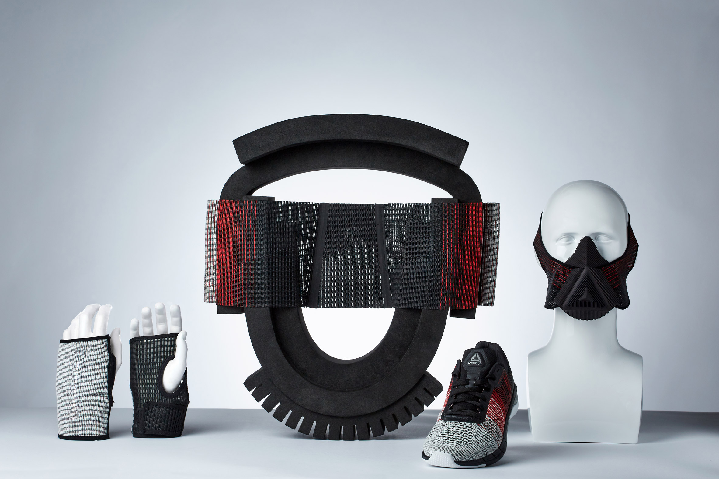 Joe Doucet creates way-finding running gloves using Reebok Flexweave