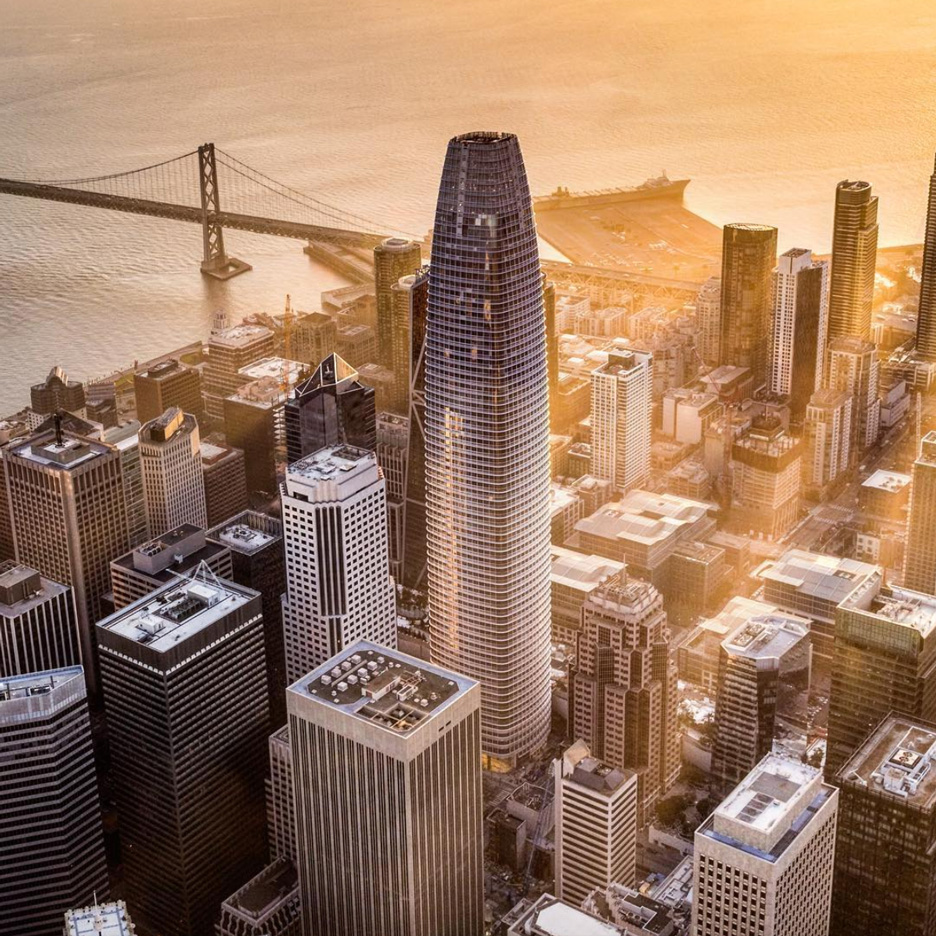 Top 10 skyscrapers: Salesforce Tower by Pelli Clarke Pelli