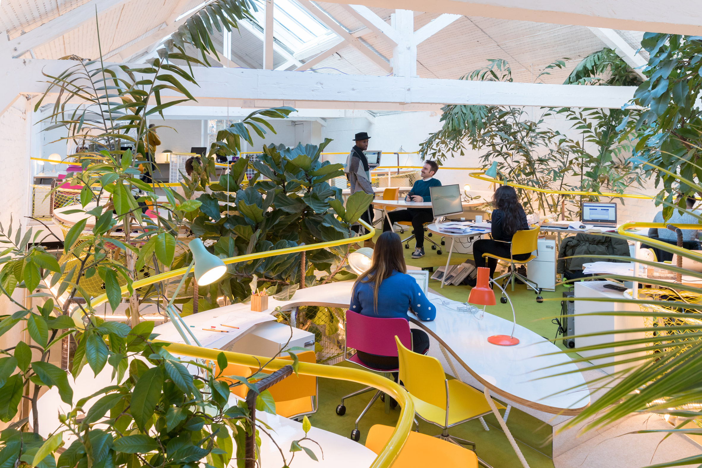 SelgasCano transforms Richard Rogers' former studio into another Second Home workspace