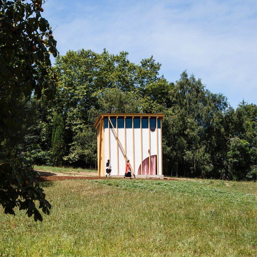 Fala Atelier's pavilion for Serralves park