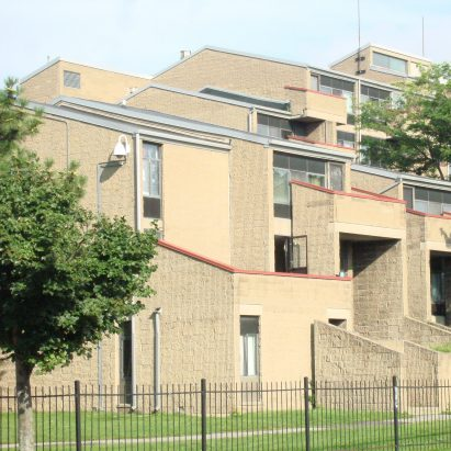 Shoreline Apartments by Paul Rudolph