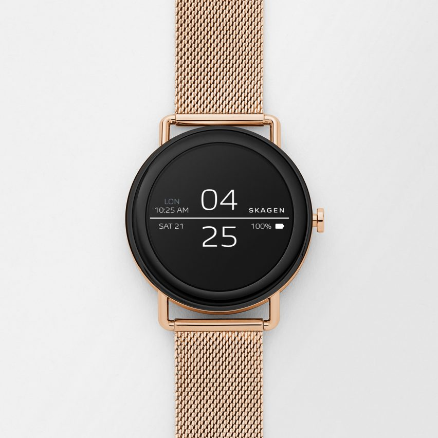 5098d573b ... the Falster smartwatch is the latest release in Skagen's collection of  smart hybrid analogue watches – but it is the first to be equipped with a  ...