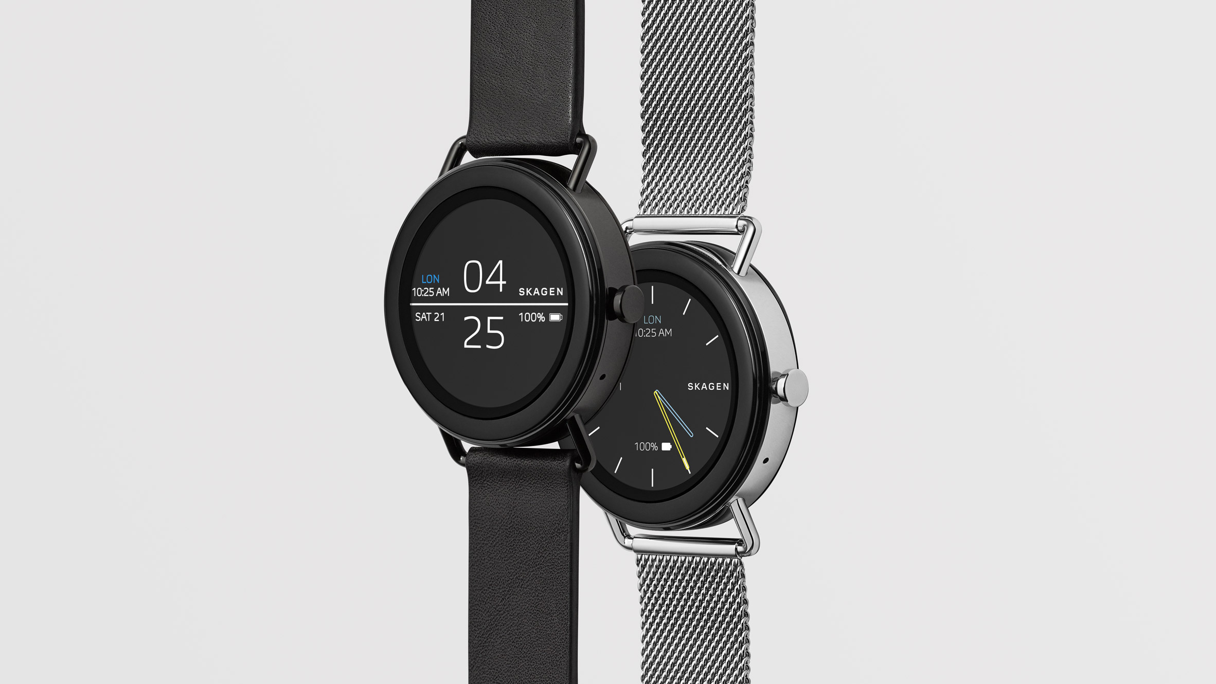 2fef8d877 Skagen's minimal smartwatch made without