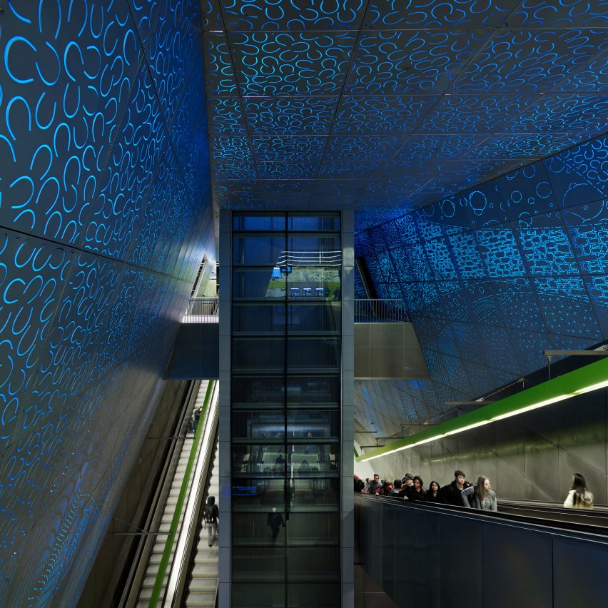 Sound Transit University of Washington Station; Seattle, by LMN Architects