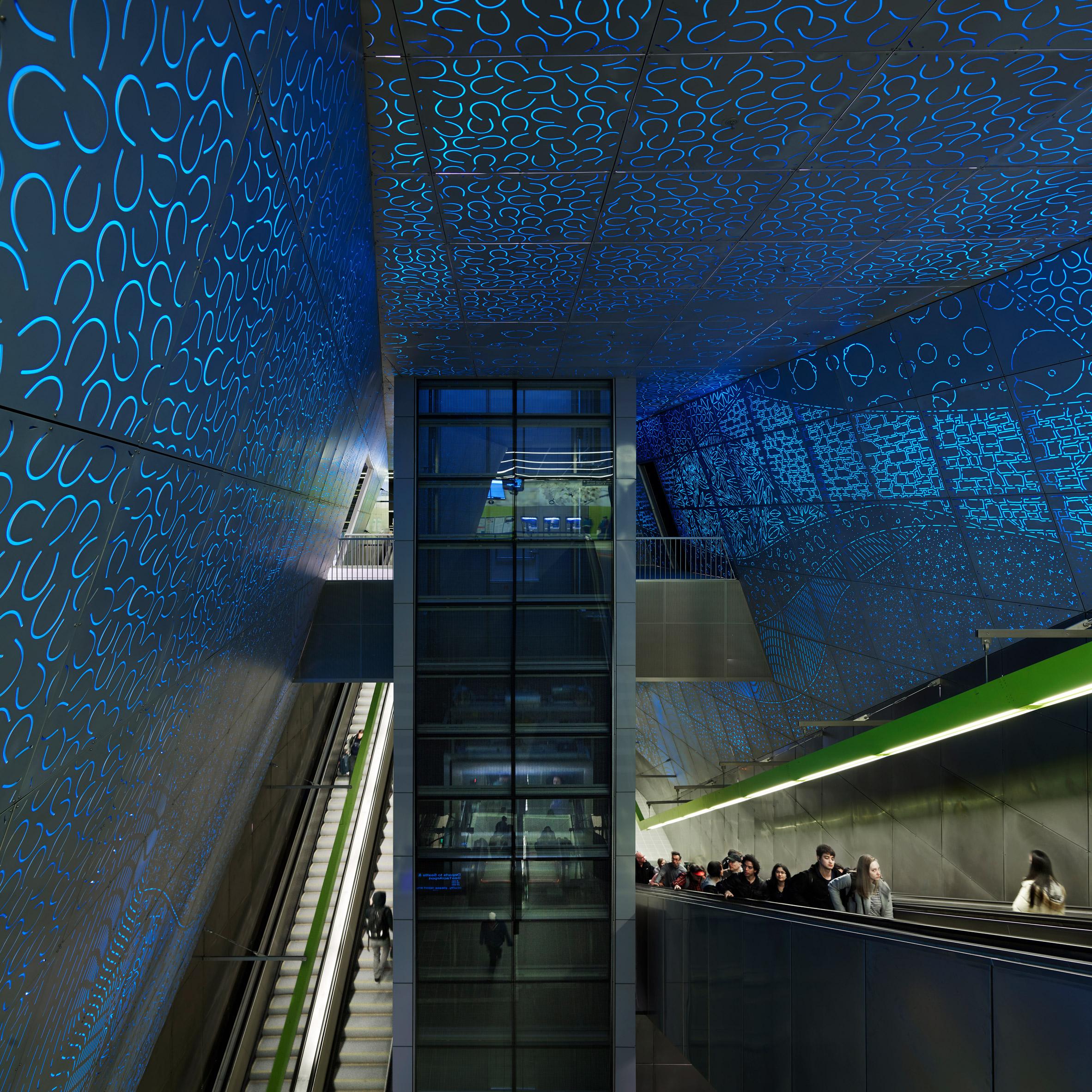 Sound Transit University of Washington Station; Seattle, by LMN Architects