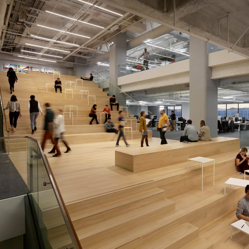 Square, Inc Headquarters; San Francisco, by Bohlin Cywinski Jackson