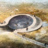 CF Møller's hybrid flood defences will create new nature park in Denmark