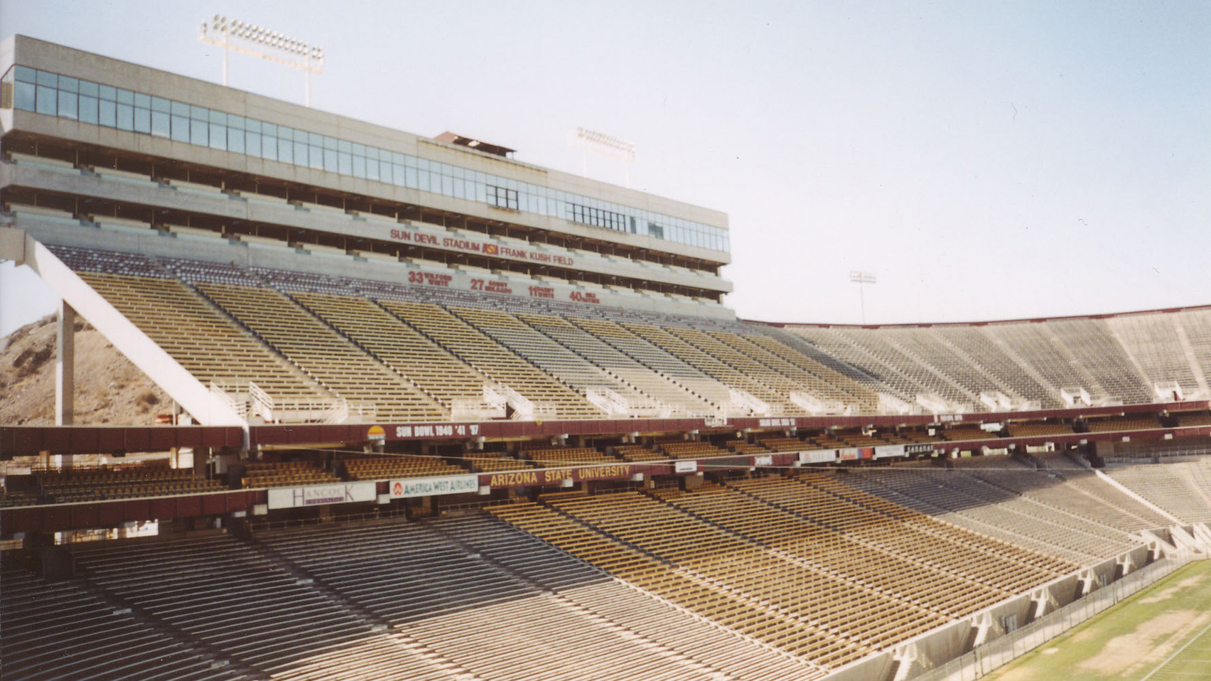 Sun Devil Stadium by Edward L Varney, Tempe, Arizona