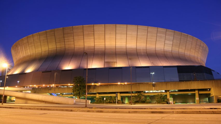 Superdome by Nathaniel C Curtis, New Orleans, Louisiana