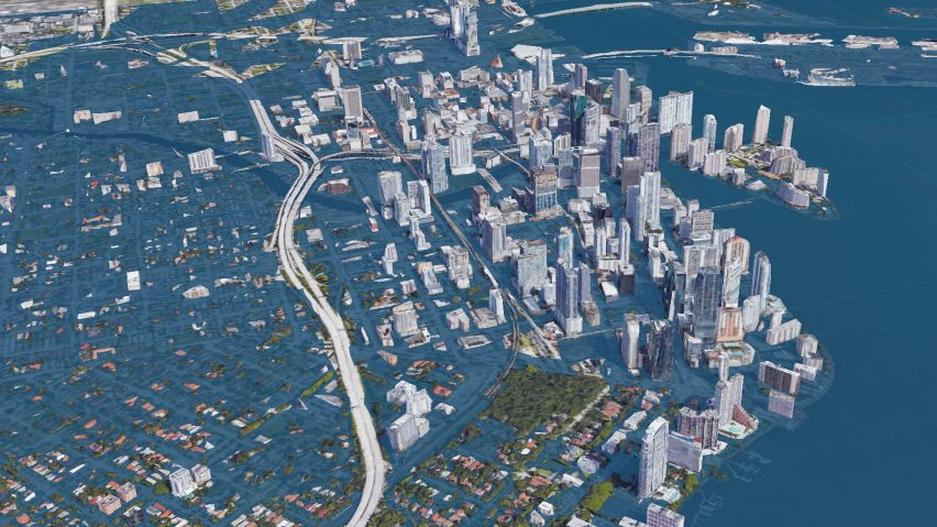 Miami seen using the Surging Seas software