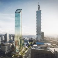 Taipei's latest skyscraper inspired by the shape of bamboo shoots