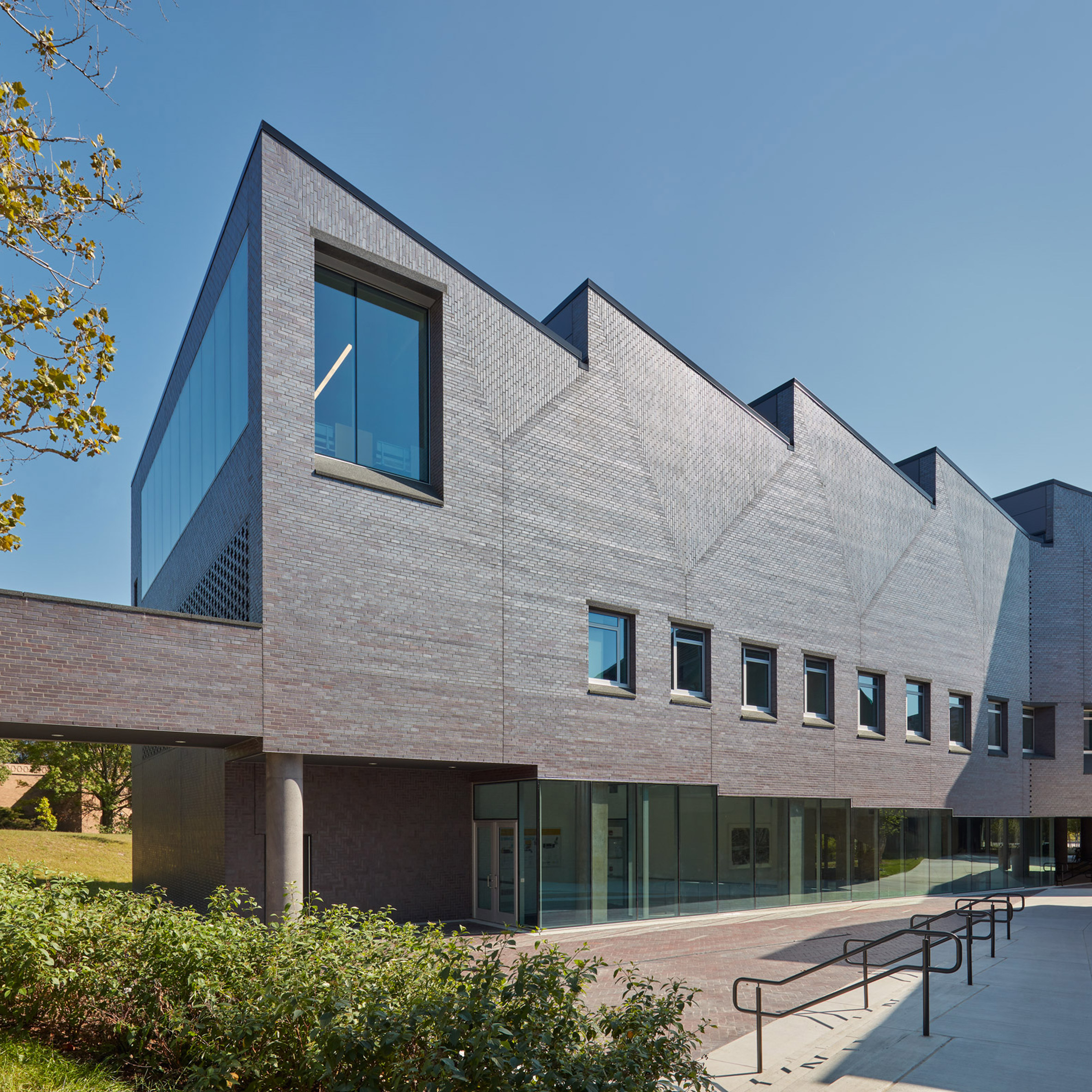 preston scott cohen includes jagged roof at michigan