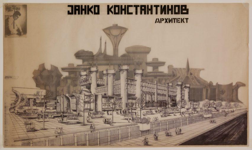 Telecommunications Center by Janko Konstantinov