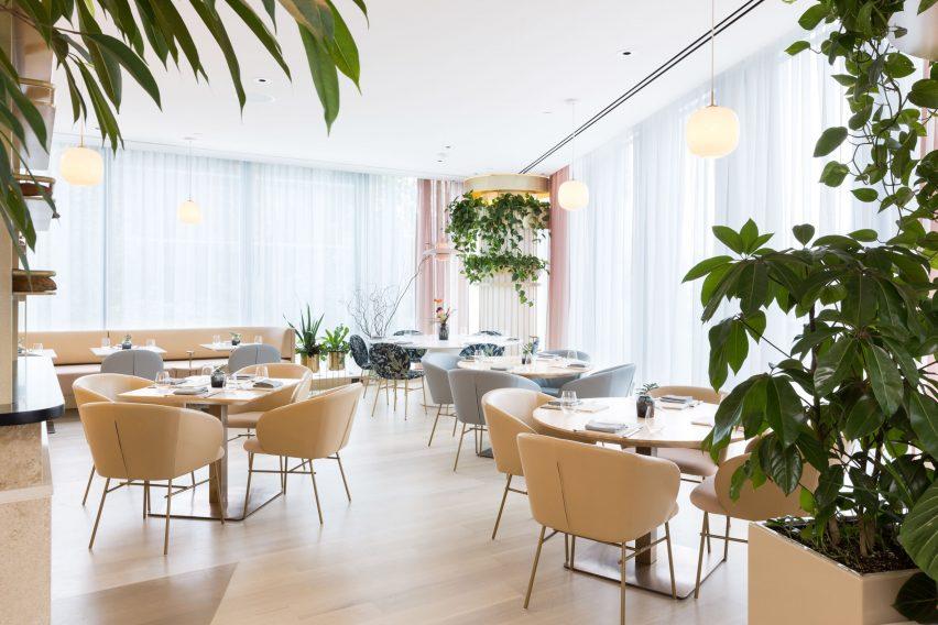 The Botanist restaurant by Ste Marie