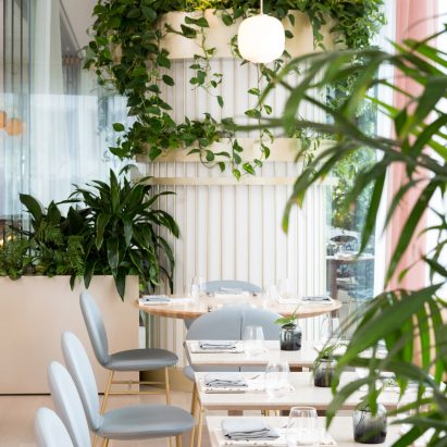 The Botanist restaurant by Ste Marie