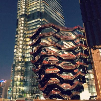 Heatherwick's Vessel structure nears completion at New York's Hudson Yards